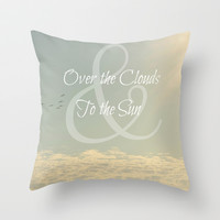 Over & To Throw Pillow by RichCaspian