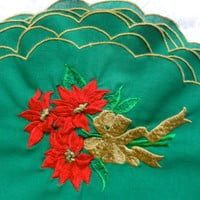 Holiday Placemats Christmas Poinsettia