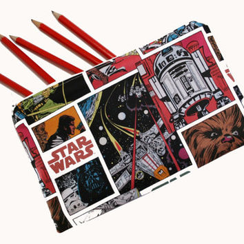 Star Wars Pencil Case, Make-up Bag, Coin Pouch