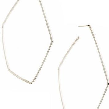 FORME Hoop Earrings in Sterling Silver