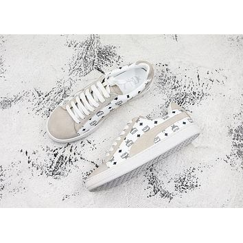 Puma x MCM Suede Classic Sneakers White