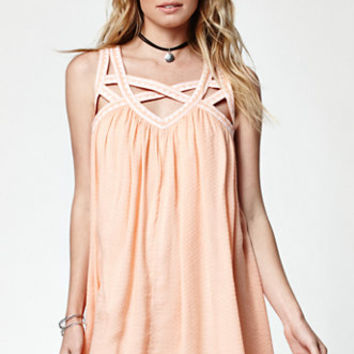 Rip Curl Neverland Embroidered Strappy Dress at PacSun.com