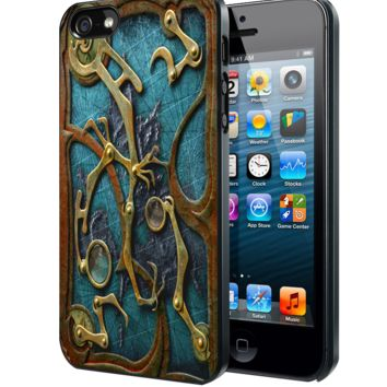Steampunk Book Samsung Galaxy S3 S4 S5 S6 S6 Edge (Mini) Note 2 4 , LG G2 G3, HTC One X S M7 M8 M9 ,Sony Experia Z1 Z2 Case