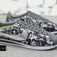 """Nike Classic Cortez Nylon Prm"" Men Sport Casual Multicolor Fashion Running Shoes Sneakers"
