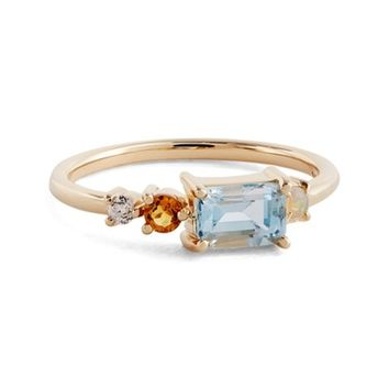 MOCIUN Topaz, Opal, Citrine & Diamond Ring (Nordstrom Exclusive) | Nordstrom