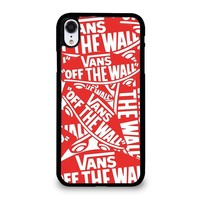 VANS OFF THE WALL iPhone XR Case Cover