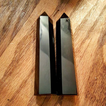 4 Inch Obsidian Point (1 pc)