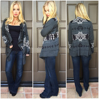 Love For The Tribe Cardigan Sweater