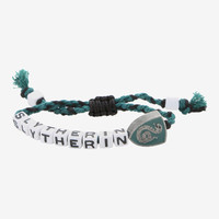 Harry Potter Slytherin Block Letter Bracelet