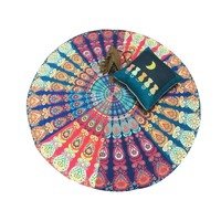 Large Mandala Tapestry and Beach Tapestry