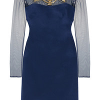 Notte by Marchesa Embellished silk dress – 55% at THE OUTNET.COM