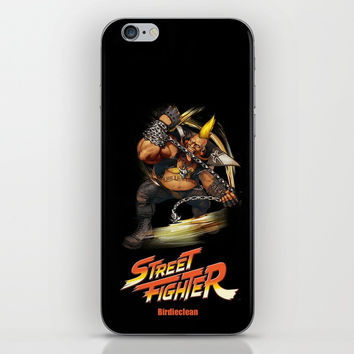 Street Fighter Birdieclean iPhone Skin by Dexter Gornez