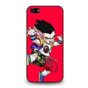 GOTENKS SAIYA BAPE SHARK iPhone 5 / 5S / SE Case Cover