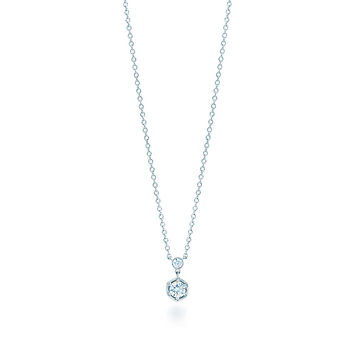 Tiffany & Co. - Tiffany Jazz™:Diamond Hexagon Pendant