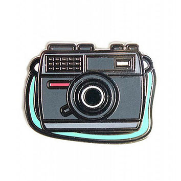 enamel camera pin