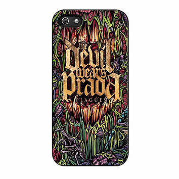 devil wears prada band cover album plagues case for iphone 5 5s