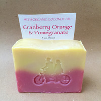 Cranberry Pomegranate Orange Lotion & Luxe Bar Combo/5 oz. Bar/ 8 oz. Lotion/Genevieve Theodore/Soapie Shoppe Haywood Mall