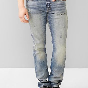 Gap Men 1969 Stretch Slim Fit Jeans Light Vintage Wash