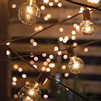 10.8 Feet Globe Lights String Lights Cafe String Lights Outdoor Lighting Patio Wedding Christmas Hanging Lights Warm Romantic Plug Bulb