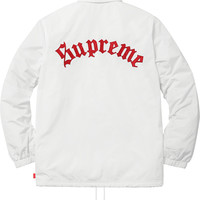 Supreme Old English Coaches Jacket