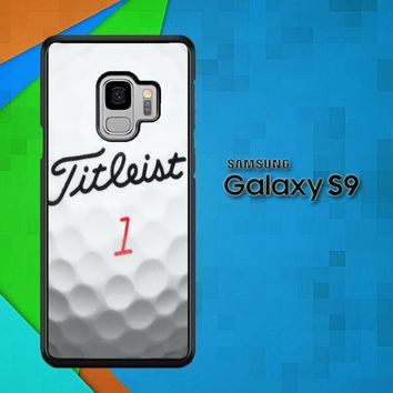 Titleist Golf Ball X4368 Samsung Galaxy S9 Case