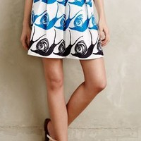 Swirled Snail Skirt by Maeve Blue Motif