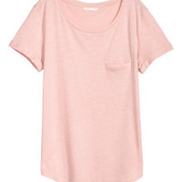 T-shirt - Coral - Ladies | H&M CA