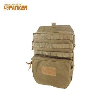 ESB3F Military Tactical Molle Hydration Bladder Carrier Pack Load Bearing Backpack Airsoft Paintball Hunting Camping Hiking 1000D Bag