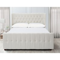Jennifer Taylor David Upholstered Panel Bed & Reviews | Wayfair