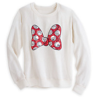 Minnie Mouse Sequin Bow Sweater | Disney Store