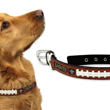 New Orleans Saints Dog Collar - Size Medium