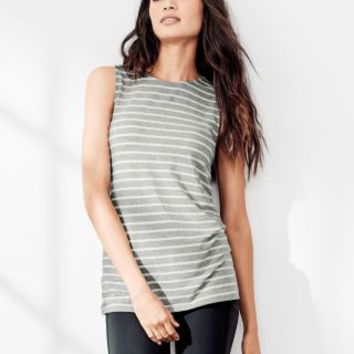 zinni™ by Garnet Hill Pleat-Detail Tank