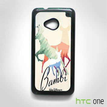 Bamby Walt Disney for HTC One M7/M8/M9 phonecases