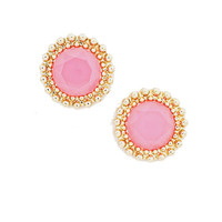 Dash of Color Studs in Pink
