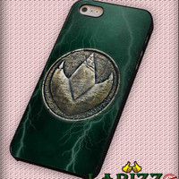 "B-Craft Green Ranger Dragonzord Coin for iPhone 4/4s, iPhone 5/5S/5C/6/6+, Samsung S3/S4/S5, Samsung Note 3/4 Case ""007"""