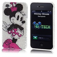 Bling Minnie Mouse iPhone 4 Case | Disney Store
