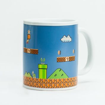 Super Mario Bros Heat Change Mug | Firebox.com - Shop for the Unusual
