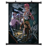 "Mirai Nikki Anime Fabric Wall Scroll Poster (32"" X 33"") Inches"