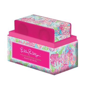 Wireless Speaker in Let's Cha Cha by Lilly Pulitzer