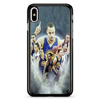 Stephen Curry Race For Mvp iPhone X Case