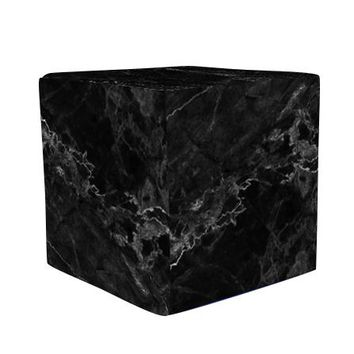 Black Marble Wooden Cube Cover Photography Prop - CUBE12