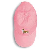 Corgi Embroidered Baseball Cap BB3420PK-156