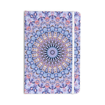 "Iris Lehnhardt ""Summer Lace II"" Circle Purple Everything Notebook"