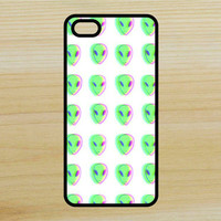 Trippy Alien Pattern Art Phone Case iPhone 4 / 4s / 5 / 5s / 5c /6 / 6s /6+ Apple Samsung Galaxy S3 / S4 / S5 / S6