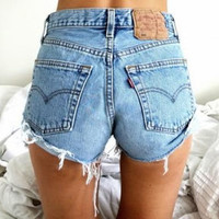 Bulk Highwaisted Vintage Cutoff Shorts