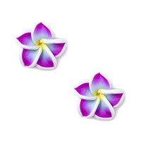 Spiral Spring Flower Stud Earrings – Claire's