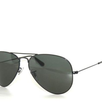 Cheap SALE*RAY BAN GREY 3025 L2823 BLACK / GREEN GREY SunglaSSeS RAYBAN