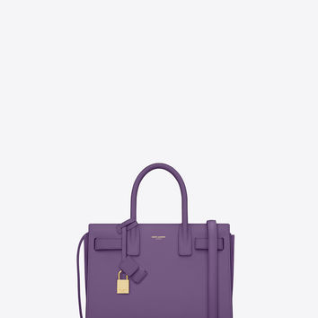 Saint Laurent CLASSIC Baby SAC DE JOUR BAG IN Violet LEATHER | ysl.com