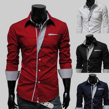 Mens Shirt Slim Fit