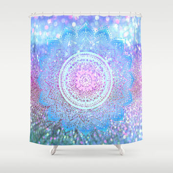 Pastel Mandala Shower Curtain by Haroulita